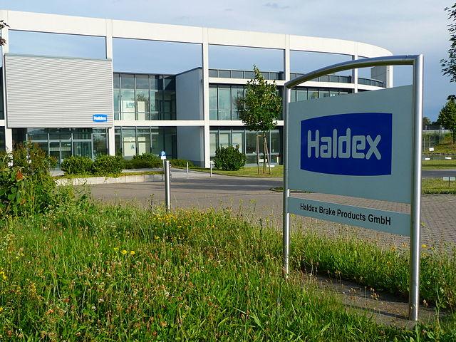 Werk der Firma Haldex Brake Products GmbH in Heidelberg-Wieblingen